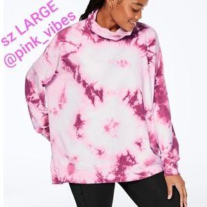 NEW VS PINK L Pink Turtleneck Pullover